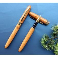 Ручка шариковая из бамбука